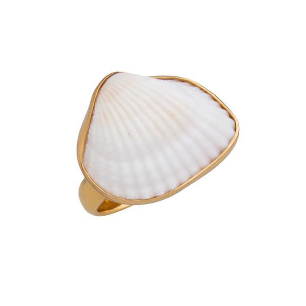Alchemia Ark Shell Adjustable Ring