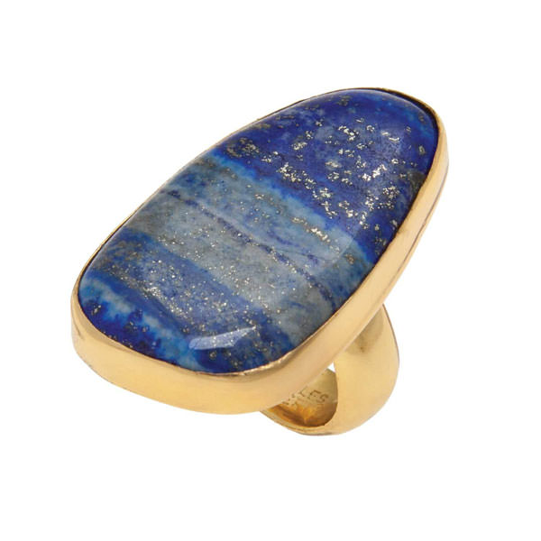 Alchemia Lapis Lazuli Adjustable Ring