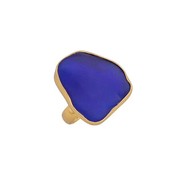 Alchemia Recycled Glass Adjustable Ring