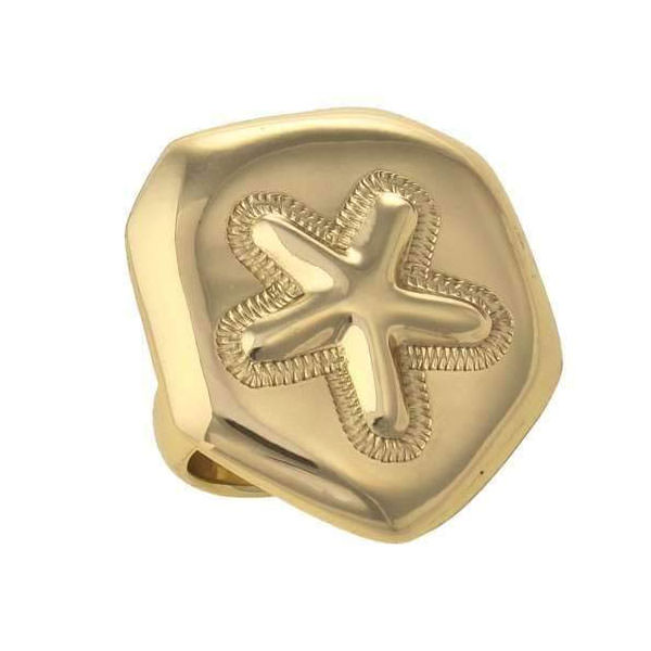 Alchemia Sand Dollar Adjustable Ring