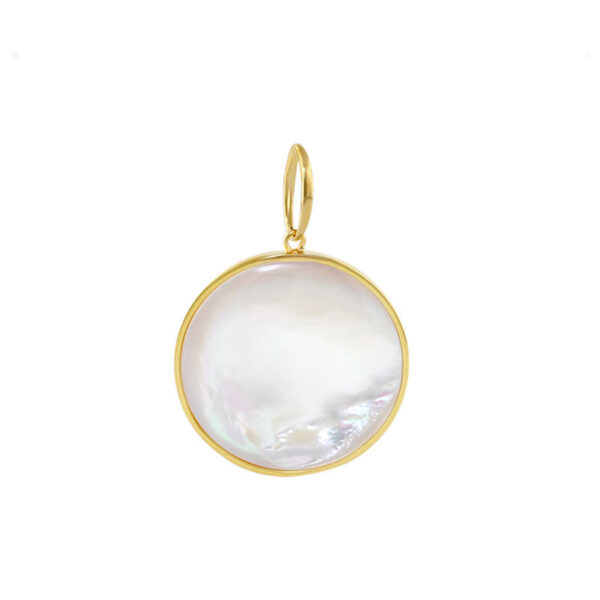 Mother of Pearl Round Pendant