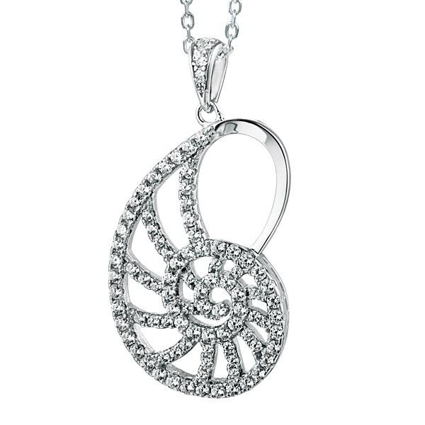 Crystal Nautilus Pendant