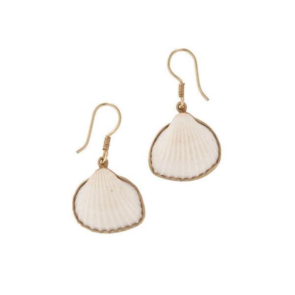 Alchemia Ark Shell Earrings
