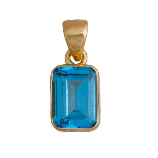Alchemia Blue Topaz Pendant