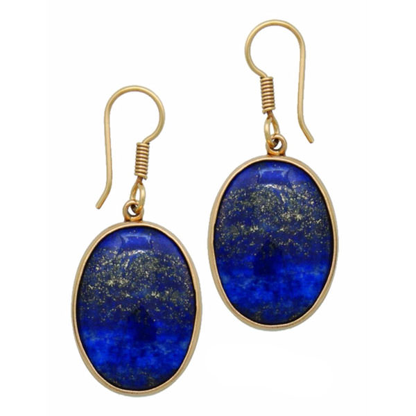 Alchemia Lapis Lazuli Drop Earrings