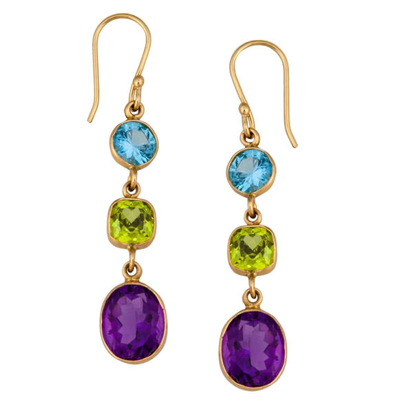 Alchemia Multi-Gemstone Earrings