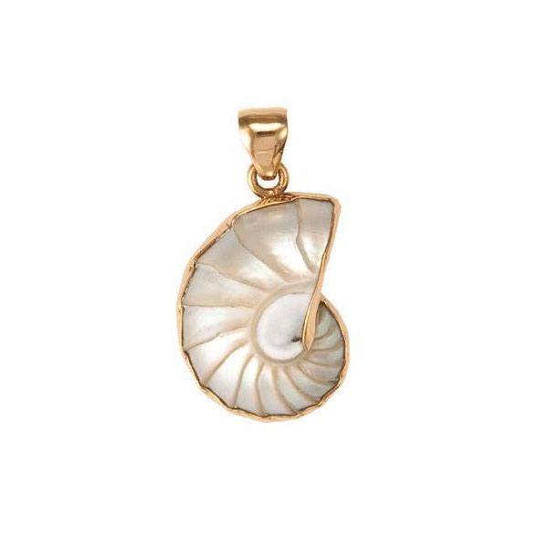 Alchemia Nautilus Shell Pendant