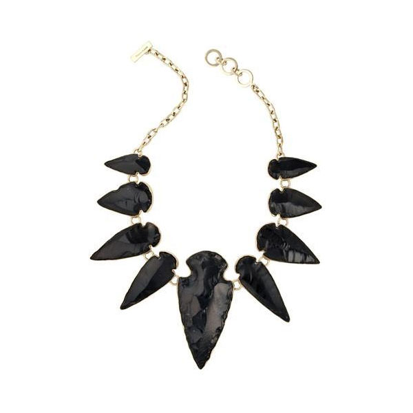 Alchemia Obsidian Arrowhead Necklace