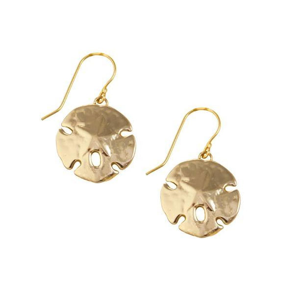 Alchemia Sand Dollar Drop Earrings